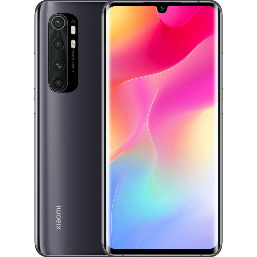 Xiaomi Mi Note 10 Lite, Dual Sim, 128GB & 6GB RAM, 4G+ Android Smartphone Midnight Black (Global Version)