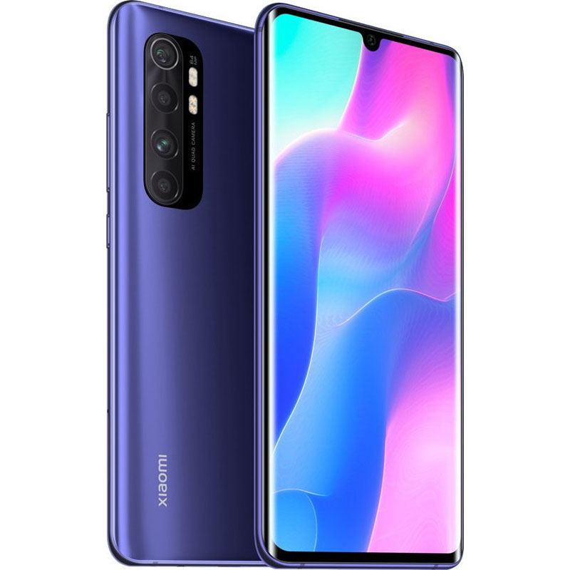 Xiaomi Mi Note 10 Lite, Dual Sim, 128GB & 6GB RAM, 4G+ Android Smartphone Nebula Purple (Global Version)