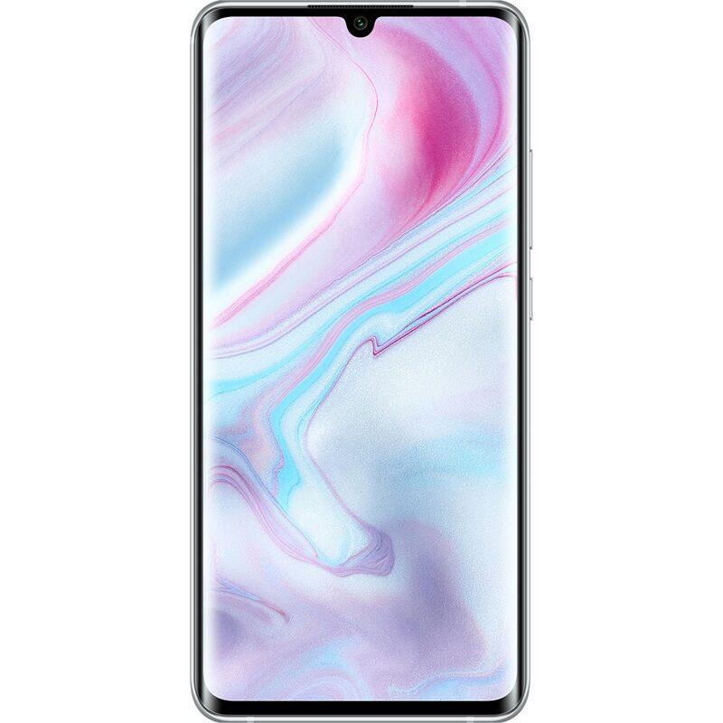 Xiaomi Mi Note 10, Dual Sim, 128GB & 6GB RAM, 4G+ Android Smartphone Glacier White (Global Version)