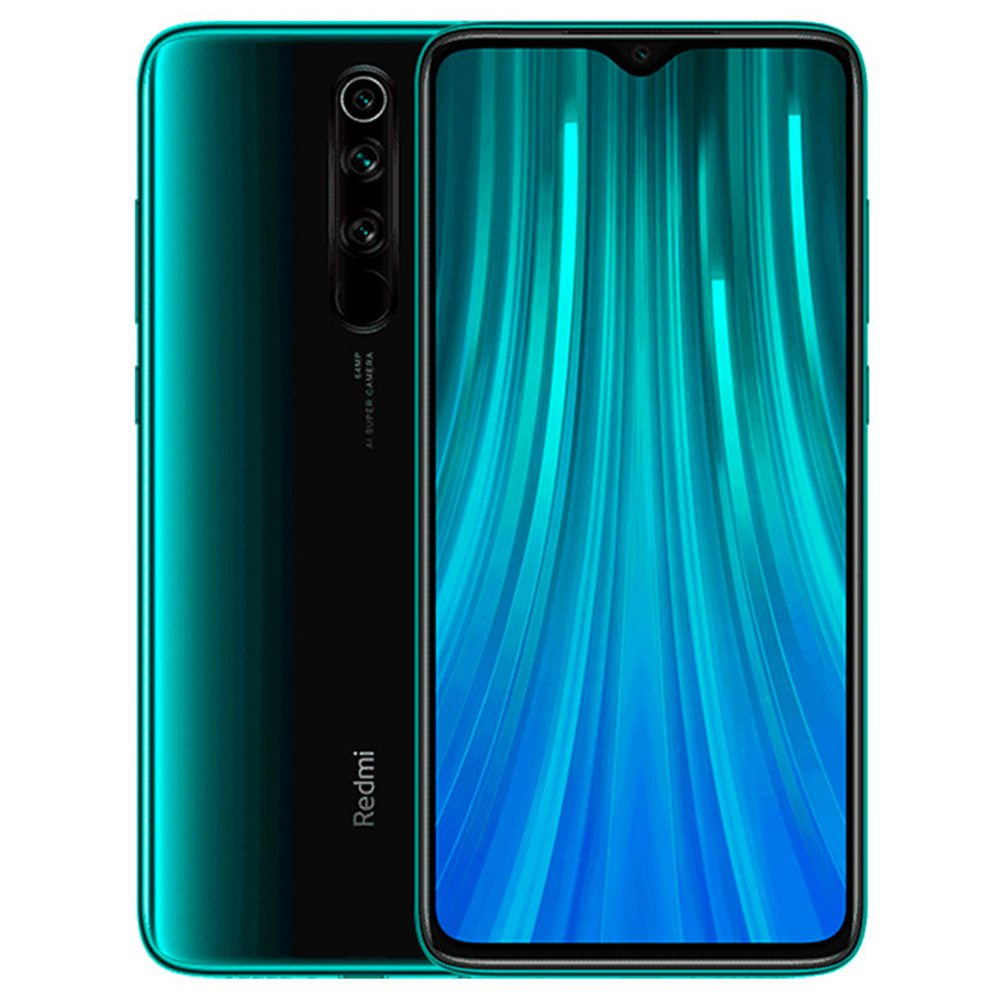 Xiaomi Note 8 Pro, Dual Sim, 64GB & 6GB RAM, 4G Android Smartphone Forest Green (Global Version)