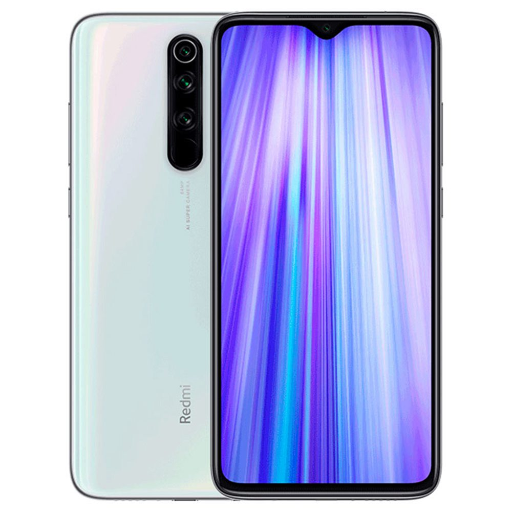 Xiaomi Note 8 Pro, Dual Sim, 64GB & 6GB RAM, 4G Android Smartphone Pearl White (Global Version)