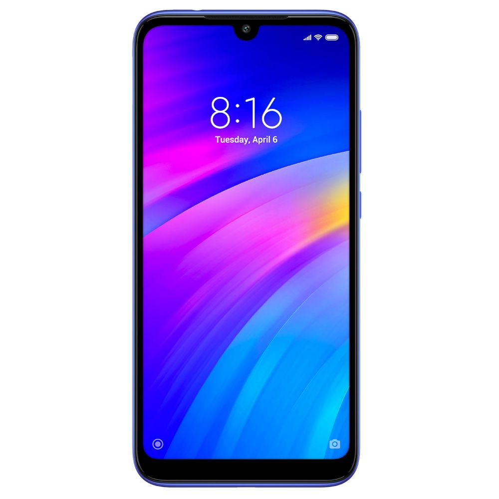 Xiaomi Redmi 7, Dual Sim, 32GB & 3GB RAM, 4G Android Smartphone Blue (Global Version)