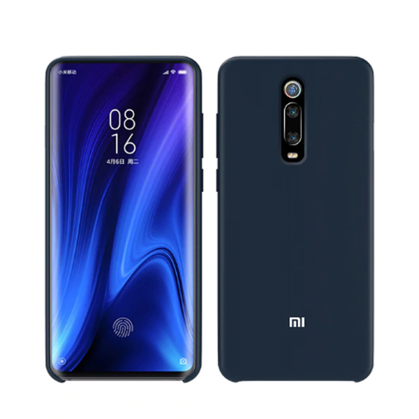 Xiaomi Liquid Silicone Cover Case για Xiaomi Mi 9T, Mi 9T Pro, K20 & K20 Pro Dark Blue