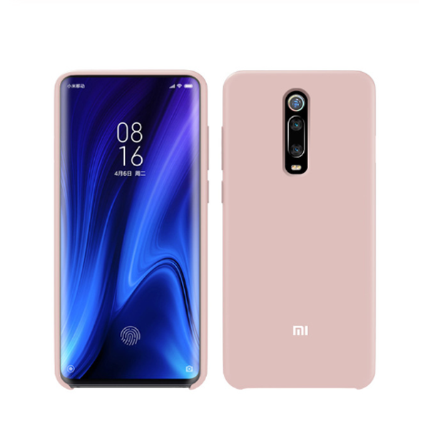 Xiaomi Liquid Silicone Cover Case για Xiaomi Mi 9T, Mi 9T Pro, K20 & K20 Pro Pink