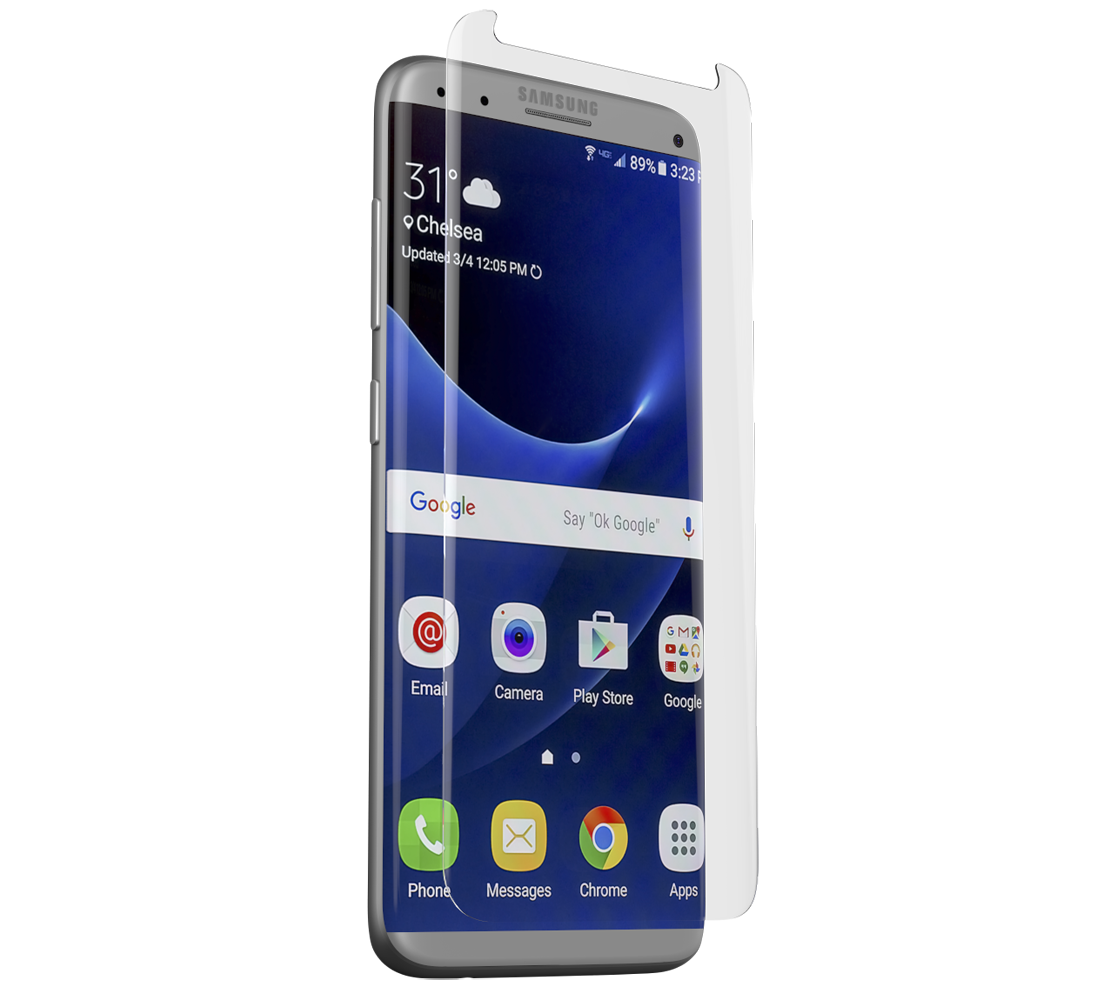 ZAGG Contour invisibleSHIELD Full Face Screen Glass Curved Precision Fit Clear για Samsung SM-G955F Galaxy S8+ (Plus)