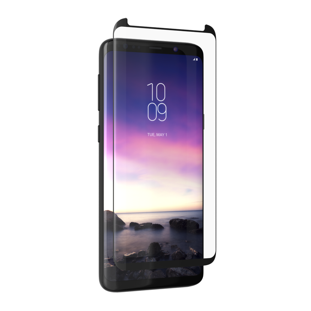 ZAGG invisibleSHIELD Screen Glass Curved Elite Precision Fit Protection για Samsung SM-G960F Galaxy S9 (Case Friendly)