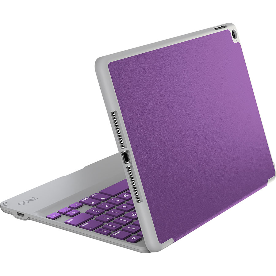Zagg Folio Case + Bluetooth Keyboard Purple για Apple iPad Mini 1,2 & 3