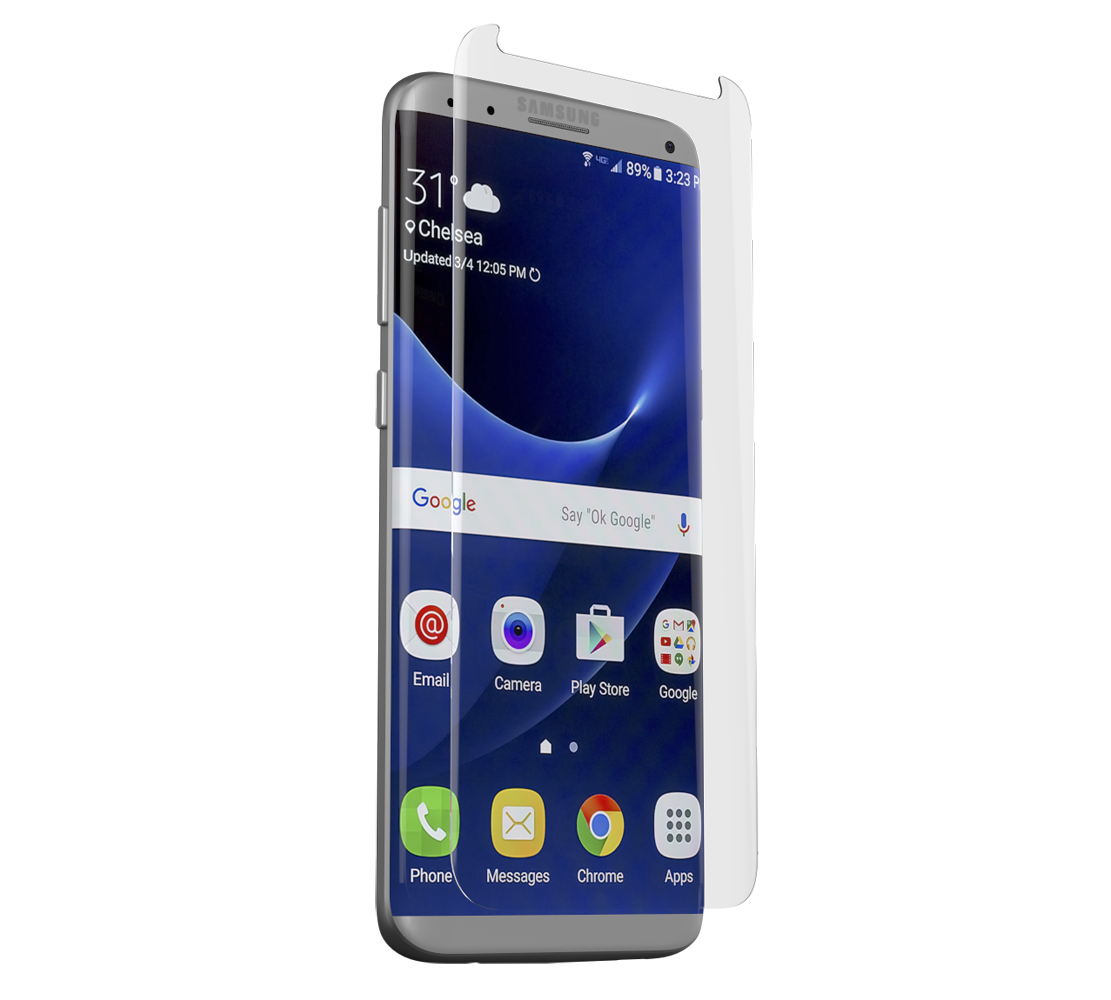 ZAGG Contour invisibleSHIELD Full Face Screen Glass Curved Precision Fit Clear για Samsung SM-G950F Galaxy S8