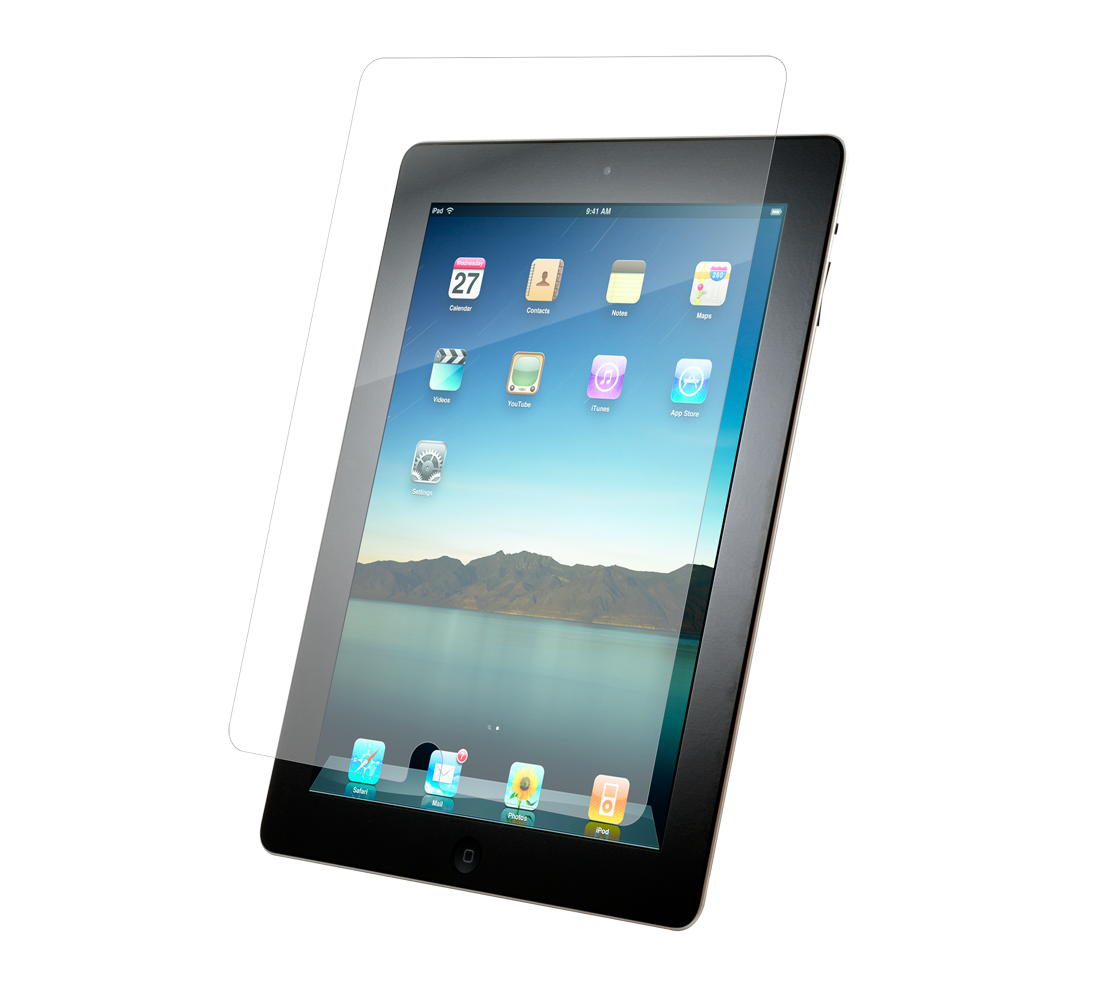 ZAGG invisibleSHIELD Glass (Maximum Clarity + Ultra Smooth Protection) για Apple iPad Air & Air 2 (Case-Friendly)