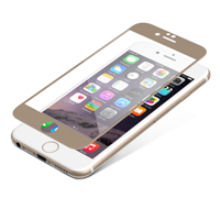 "ZAGG invisibleSHIELD Full Face Screen Glass Luxe Protector Gold για Apple iPhone 6 / 6S (4.7"")"