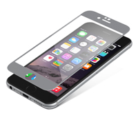 "ZAGG invisibleSHIELD Full Face Screen Glass Luxe Protector Titanium για Apple iPhone 6 / 6S (4.7"")"