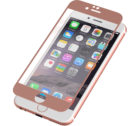 "ZAGG invisibleSHIELD Full Face Screen Glass Luxe Protector Rose Gold για Apple iPhone 6 / 6S (4.7"")"