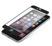 "ZAGG invisibleSHIELD Full Face Screen Glass Luxe Protector Black για Apple iPhone 6 / 6S (4.7"")"