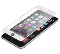 "ZAGG invisibleSHIELD Full Face Screen Glass Luxe Protector White για Apple iPhone 6 Plus / 6S Plus (5.5"")"