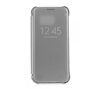 Samsung EF-ZG930CSE Clear View Cover Case για SM-G930F Galaxy S7 Silver