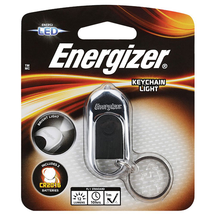 ENERGIZER KEYCHAIN LIGHT 632628 (Energizer Hi-Tech LED Μπρελόκ με 1 LED κ...)