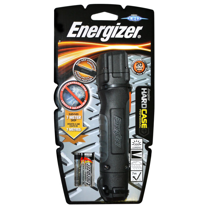 ENERGIZER HARDCASE PRO & 2xΑΑ (Φακός Energizer Hard Case Professional 2...)
