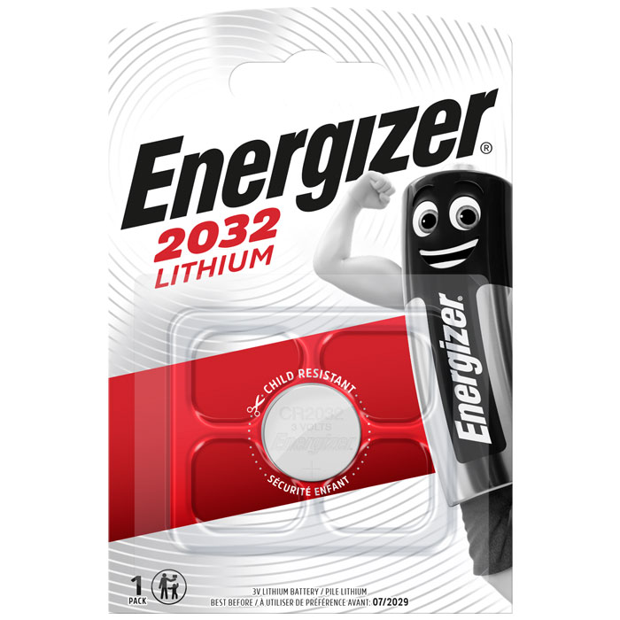 ENERGIZER CR2032 LITHIUM COIN (Μπαταρία λιθίου (κουμπί) Energizer CR203...)