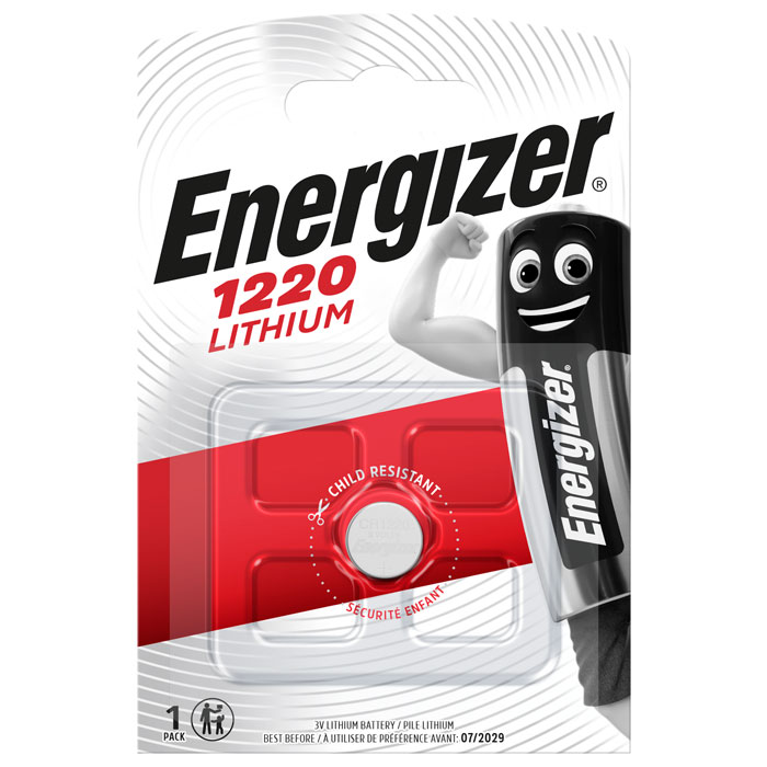 ENERGIZER CR1220 LITHIUM COIN (Μπαταρία λιθίου Energizer CR1220 3V σε b...)