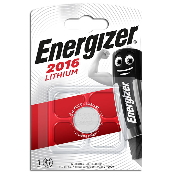 ENERGIZER CR2016 LITHIUM COIN (Μπαταρία λιθίου (κουμπί) Energizer CR201...)