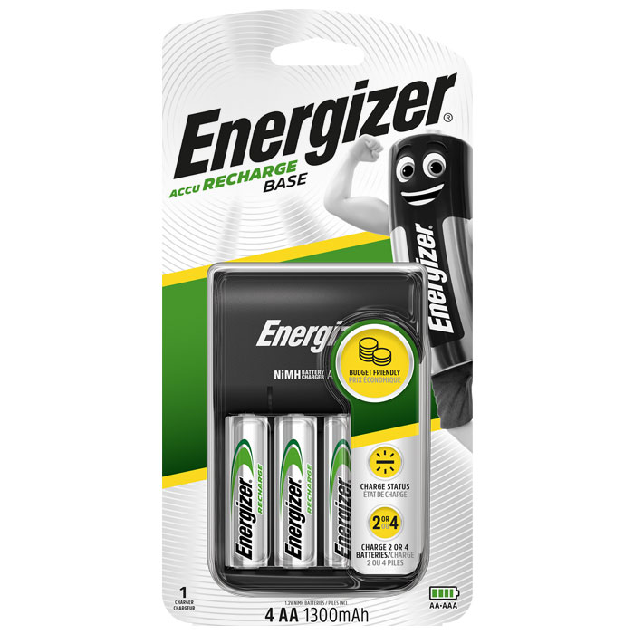ENERGIZER BASE CHARGER F016546 (Φορτιστής μπαταριών AA/AAA Energizer Βas...)
