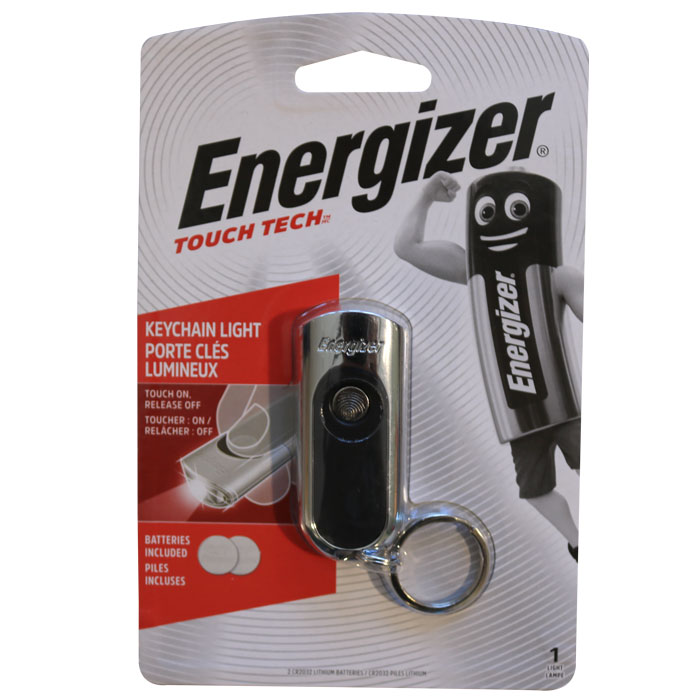 ENERGIZER TOUCH TECH KEYCHAIN LIGHT (Energizer Hi-Tech LED Μπρελόκ με 1 LED κ...)