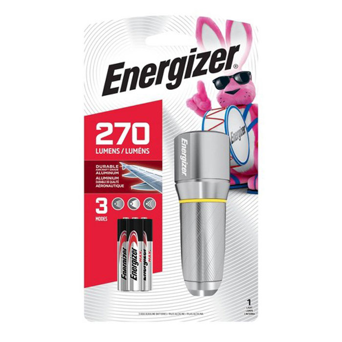 ENERGIZER METAL VISION HD 3xAAA  F081113 (Φακός Energizer Vision HD με 3 μπαταρίες...)