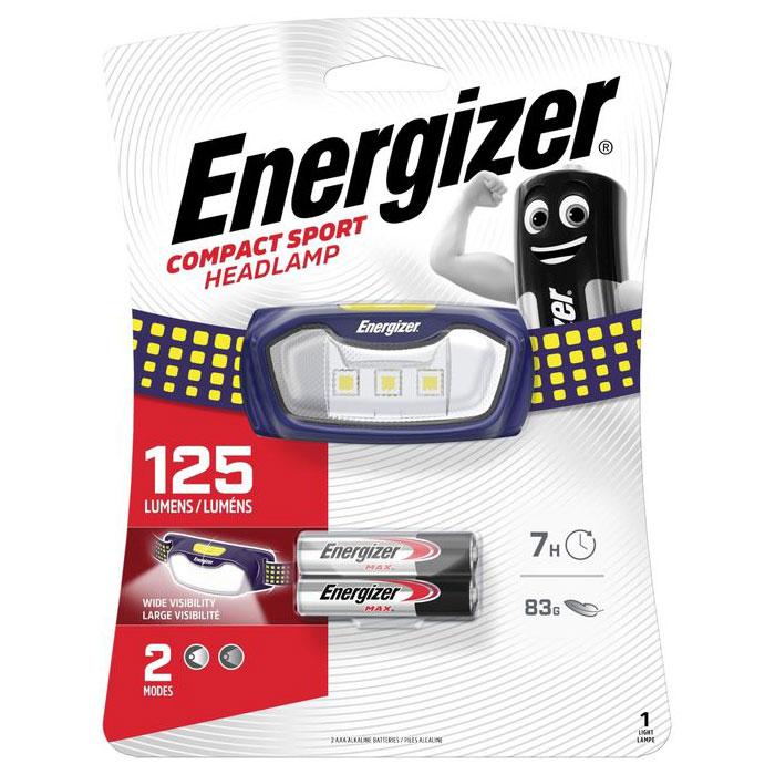 ENERGIZER SPORT HEADLIGHT     F081111 (Φακός κεφαλής Energizer Sport Headlight ...)
