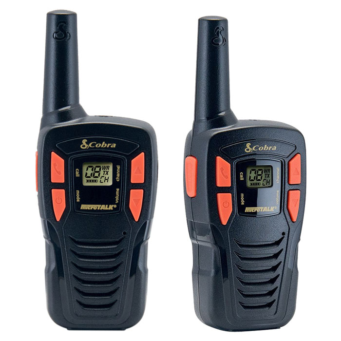 COBRA AM245 PMR 5 km Range 8-Channel Black/Orange (Walkie talkie με εμβέλεια έως και 5 km, ...)