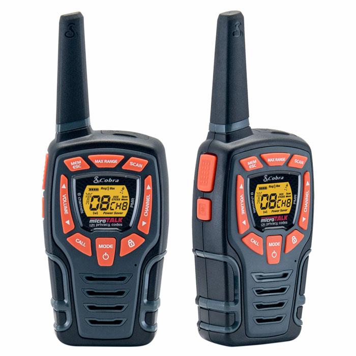 COBRA AM845 PMR 10 km Range 8-Channel Black/Orange (Walkie talkie με εμβέλεια έως και 10km, ...)