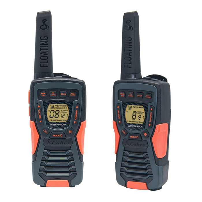 COBRA AM1035 FLT PMR 12 km Range 8-Channel Black/Orange (Walkie talkie με εμβέλεια έως και 12 km,...)