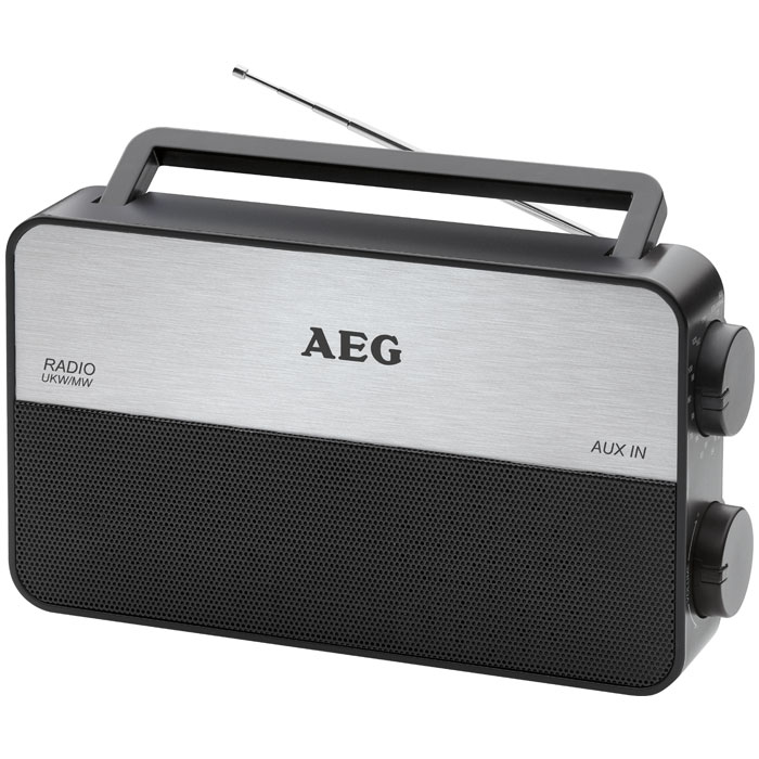 TR 4152 AEG Radio: Portable 2-band radio (FM/AM) 006687 (Φορητό ραδιόφωνο FM / AM)