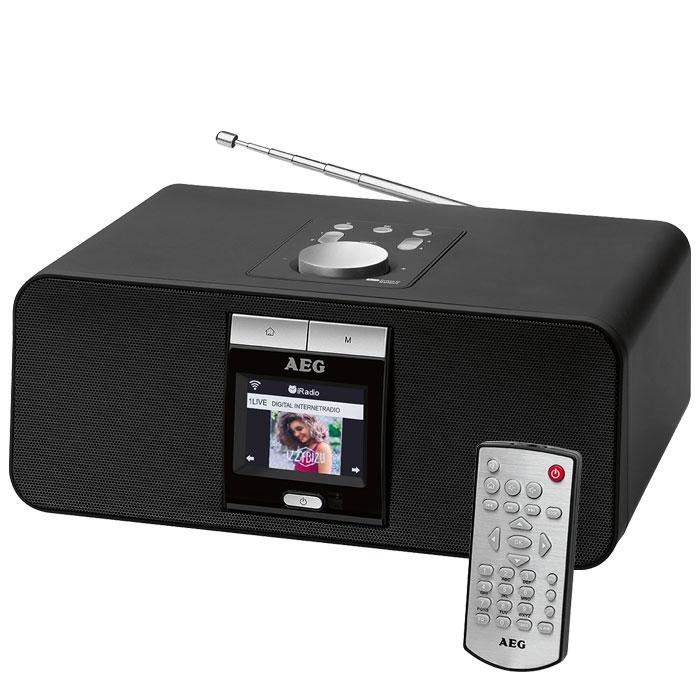 IR 4468 AEG BT INTERNET RADIO black 400694IR 4468 AEG BT INTERNET RADIO black 40 (Internet και FM Ραδιόφωνο με Bluetooth, ...)