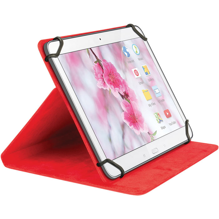 "SWEEX SA 312V2 RED TABLET CASE 7"" (Universal θήκη για tablet 7"" και βάση στ...)"