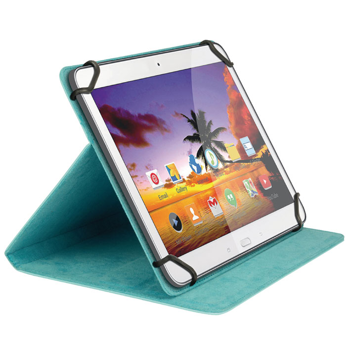 "SWEEX SA 327V2 Tablet Folio Case 8"" Blue (Universal θήκη για tablet 8"" και βάση στ...)"