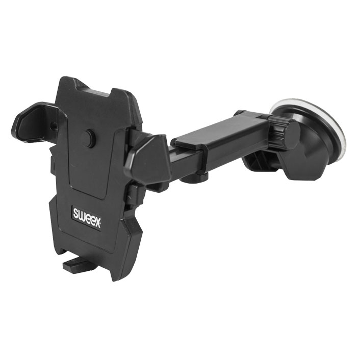 SWEEX SWUSPM 200 BK Universal Smartphone Mount In-Car Window Black (Universal βάση αυτοκινήτου για smartphon...)