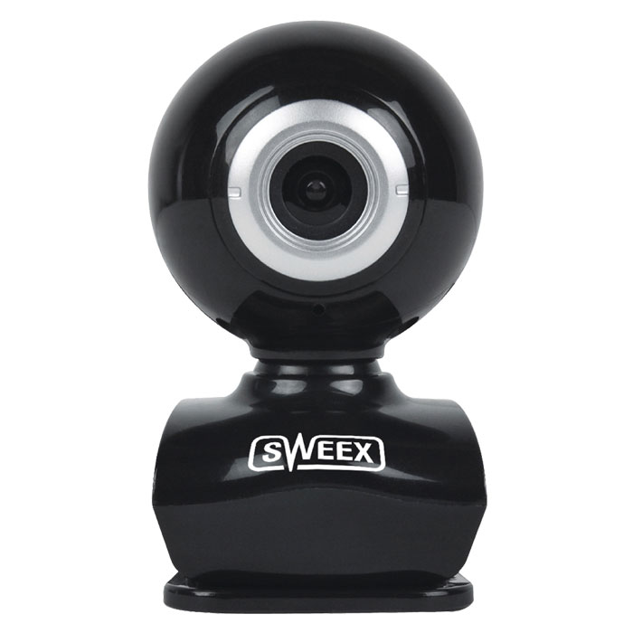 SWEEX WC035V2 Webcam USB 0.3 MPixel SD Plastic Black/Silver (Web κάμερα 03 MPixel με σύνδεση USB σε μ...)