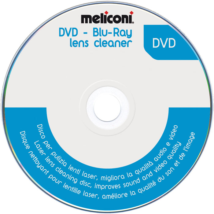 MELICONI DVD BLUE RAY LENS CLEANER (DVD καθαρισμού κεφαλής lazer)