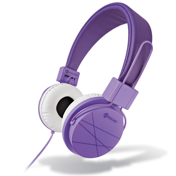 MELICONI MYSOUND SPEAK STREET PURPLE ON-EAR STEREO HEADPHONE (WITH MICROPHONE) (Στερεοφωνικά ακουστικά με μικρόφωνο, με ...)
