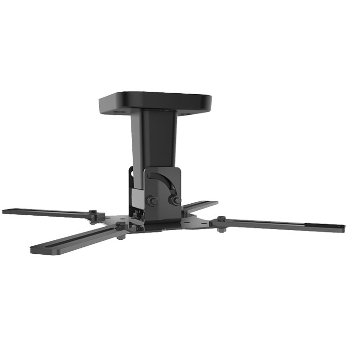 MELICONI PRO 100 BLACK - VIDEO PROJECTOR CEILING SUPPORT (Βάση οροφής για projector, σε μαύρο χρώμ...)
