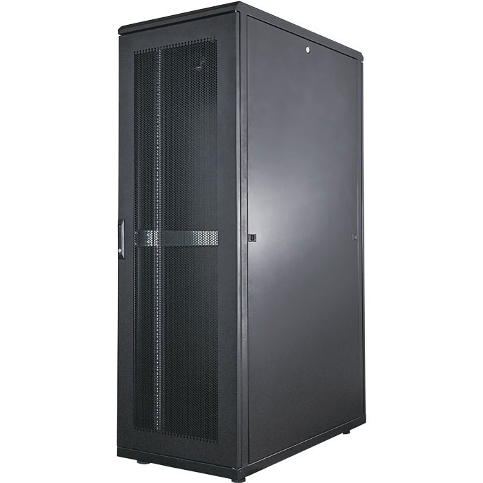 "INT 713252 ASSEMBLED 19"" 36U (1728x600x1000) NETWORK RACK BLACK (Καμπίνα δικτύου 19"", 36U (600x1000mm), I...)"