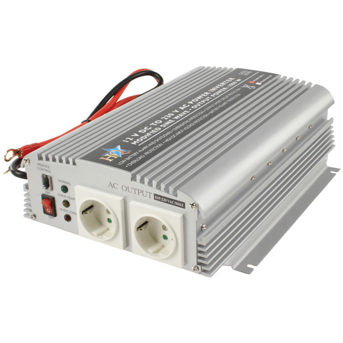 HQ-INVERTER 1KW/12V TO 230VAC (Inverter 1000W 12VDC to 230VAC)
