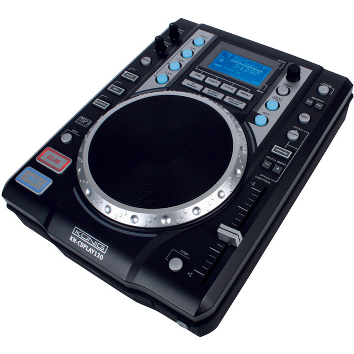 KN-CD PLAY 130 USB/MP3 DIGITAL CONTROLLER (Επαγγελματικό επιτραπέζιο player USB/MP3)