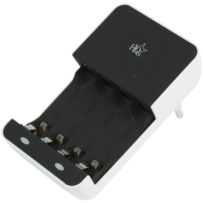 HQ-CH 02E BATTERY CHARGER AA/AAA (Φορτιστής για μπαταρίες ΑΑ/ΑΑΑ)