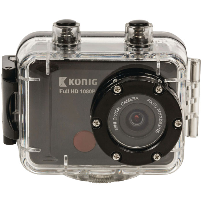 CSAC 300 Full HD action camera 1080p waterproof WiFi (Action κάμερα Full HD 1080p, 12MP με αδι...)