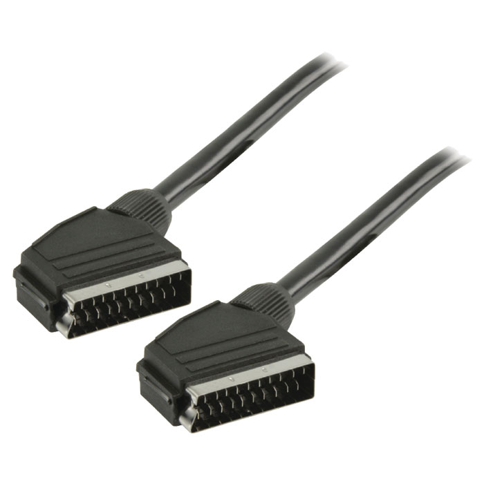 VLVT 31000B 5.00 SCART Cable Male - Male 5.00 m Black (Καλώδιο Scart αρσ)