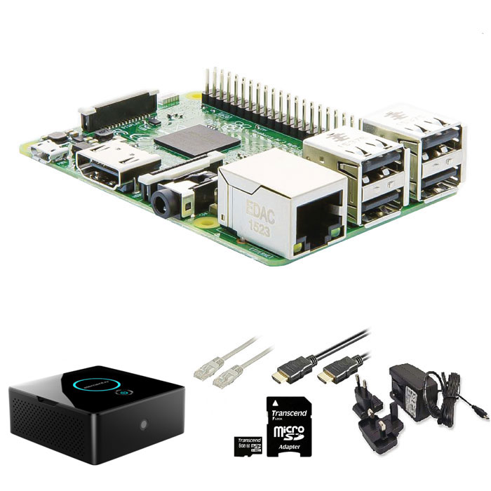RASPBERRY Pi RP3KIT4 Mini Desktop Kit (Raspberry Pi Mini Desktop Kit, με WiFi κ...)