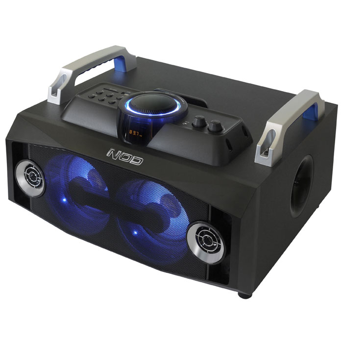 NOD MHS-100BL Mini Hi-Fi System with SD,USB, bluetooth and Blue LED (Mini Hi-Fi με σύνδεση Bluetooth, FM ράδι...)