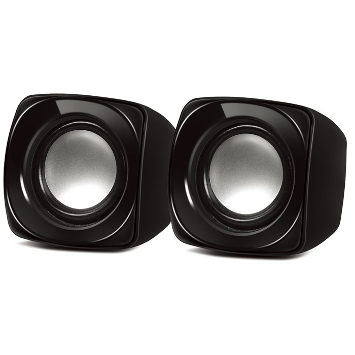 NOD Base.2.Zero SPK-002 Speaker 2.0 2x3W,black (Στερεοφωνικά ηχεία 20, 2 x 3W)