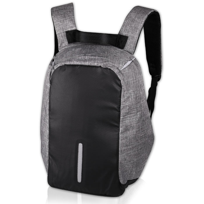 "NOD LBP-200 CitySafe Grey & Black Edition Notebook Backpack 14""-15.6"" (Αnti-theft σακίδιο πλάτης)"